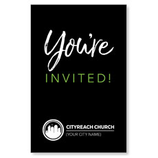 CityReach Black and Green Invited