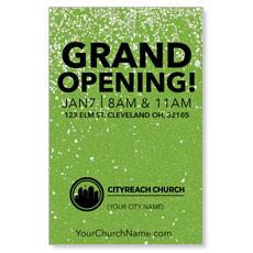 CityReach Green Pebble Fade InviteCard