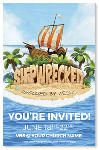 Shipwrecked Medium InviteCards