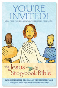 Jesus Storybook Bible InviteCards