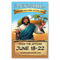 The Action Bible VBS InviteCard