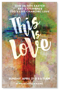 This is Love Easter InviteCards