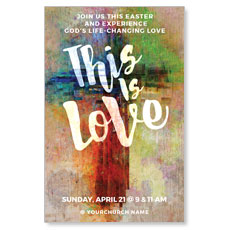 This is Love Easter InviteCard
