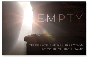 Empty Tomb Open InviteCards