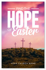 Hope of Easter Pink Medium InviteCards