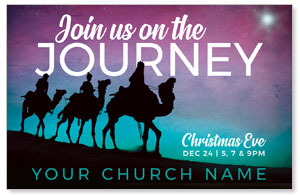 Wise Men Christmas Journey Medium InviteCards