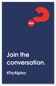 Alpha Join The Conversation Navy Medium InviteCards