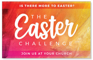 The Easter Challenge Medium InviteCards