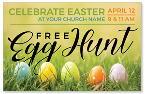 Free Easter Egg Hunt Medium InviteCards