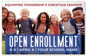 Kids Enroll Together Medium InviteCards