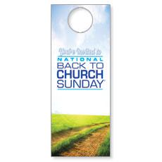 Back to Church Sunday 2014 Door Hanger