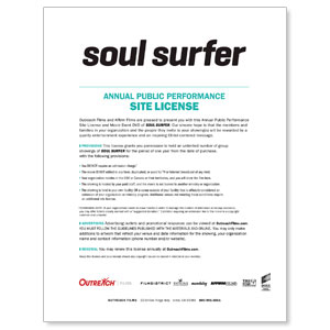 Soul Surfer License Renewal Movie License Renewals
