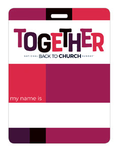 BTCS Together Name Badges