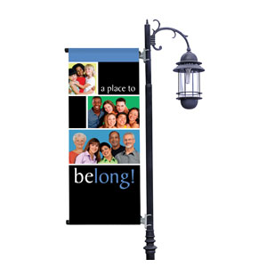 Belong  Light Pole Banners