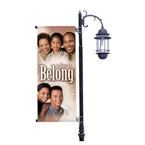 Place to Belong Light Pole Banners