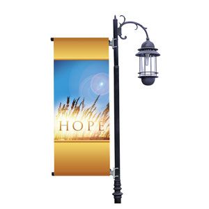 Hope for Tomorrow Light Pole Banners