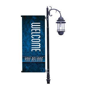 You Belong Welcome Light Pole Banners