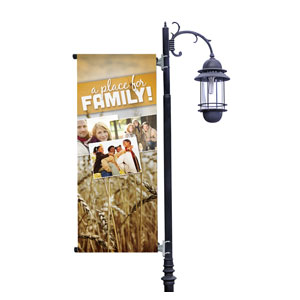 A Place for Family Fall Light Pole Banners