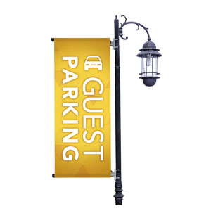 Guest Parking Banners
