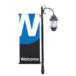 Metro Welcome Light Pole Banners