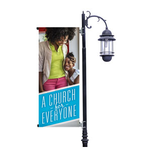 Everyone Mom & Child Light Pole Banners