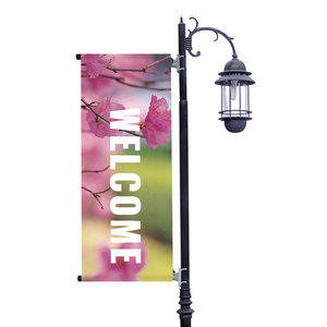 Season Photos Spring Light Pole Banners