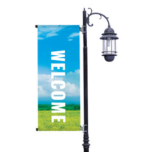 Season Photos Summer Light Pole Banners