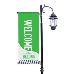 To Belong Green Banners