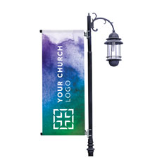 Celebrate Watercolor Logo Banner