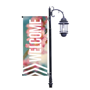 Chevron Welcome Spring Banners