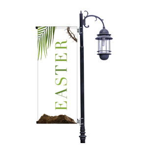 Easter Week Icons Light Pole Banners