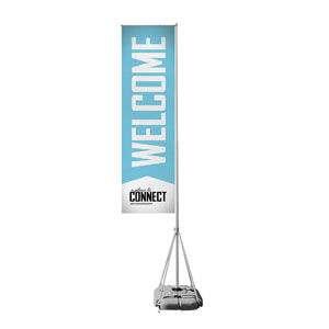 Place to Connect Welcome Mega Flag