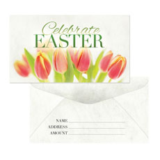 Easter Offering Offering Envelope