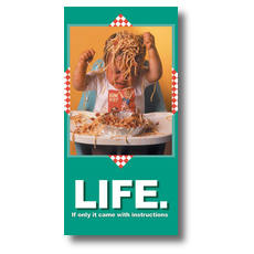 Noodles XLarge Postcard