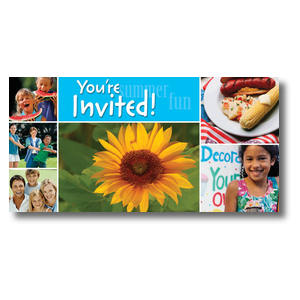 Summer Days Church Postcards