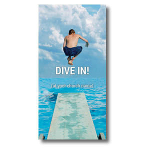 Dive In XLarge Postcards
