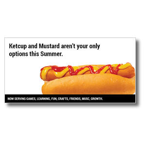 Hot Dog XLarge Postcards