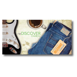 ReDiscover Church Coffee XLarge Postcards