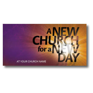 New Church XLarge Postcards