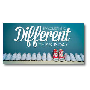 "Different Shoes 11 x 5.5 Oversized Postcard 11"" x 5.5"" Oversized Postcards"