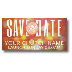 Save the Date XLarge Postcard