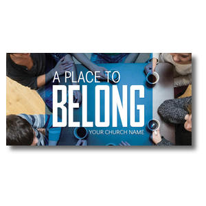 "Overhead Belong  11 x 5.5 Oversized Postcard 11"" x 5.5"" Oversized Postcards"
