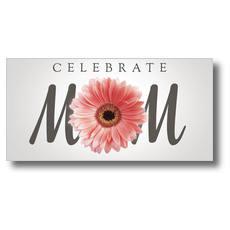 Mom Flower XLarge Postcard