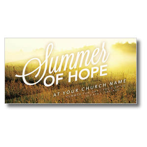 Summer of Hope XLarge Postcards