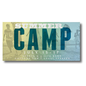 Summer Camp Church Postcards