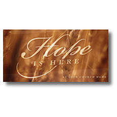 Fall Hope Wheat XLarge Postcard