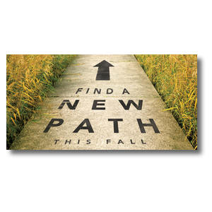 New Path XLarge Postcards