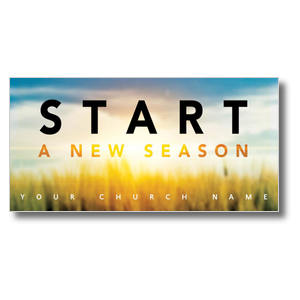 New Season Sunrise XLarge Postcards