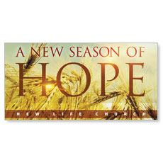 Hope Wheat XLarge Postcard