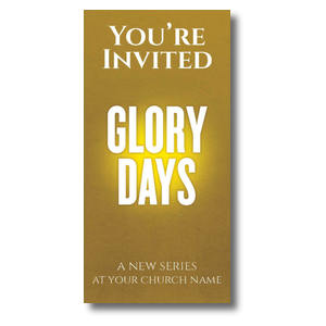 "Glory Days 11"" x 5.5"" Oversized Postcards"